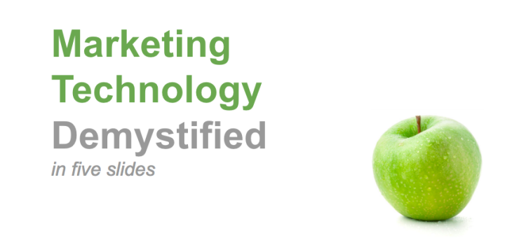 Marketing Technology Demystified