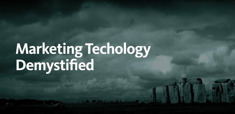 Marketing Technology Demystified on Medium